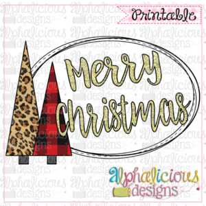 Merry Christmas-Buffalo-Printable