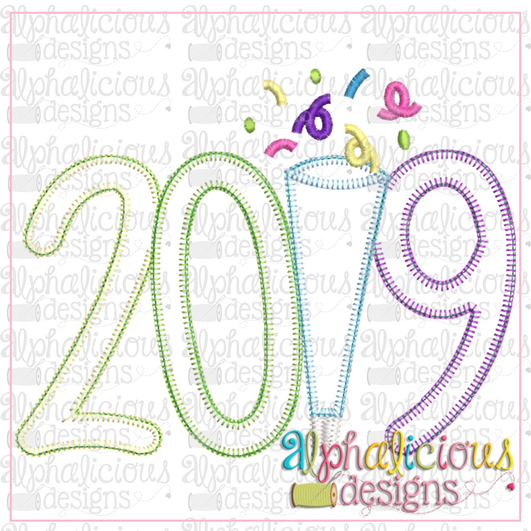 2019 Applique- Blanket