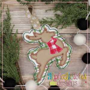 Deer-ITH Ornament-Alphalicious Designs