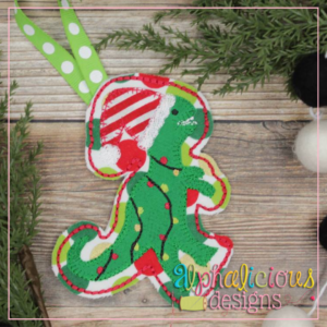 Dino-ITH Ornament-Alphalicious Designs