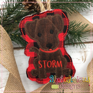 Dog-ITH Ornament-Alphalicious Designs