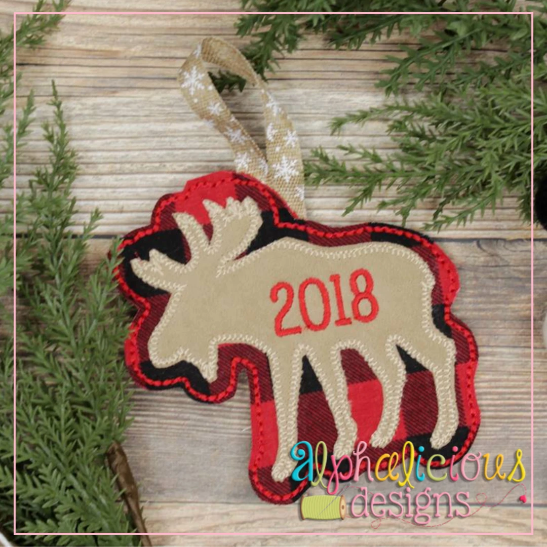 Moose-ITH Ornament