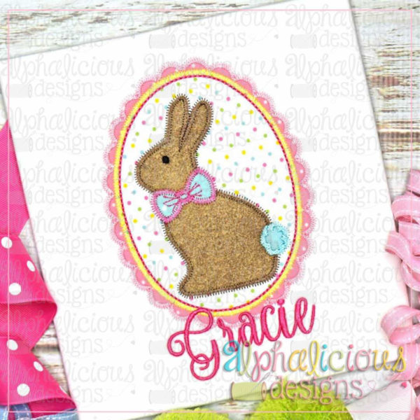 Classic Bunny in Frame-ZigZag