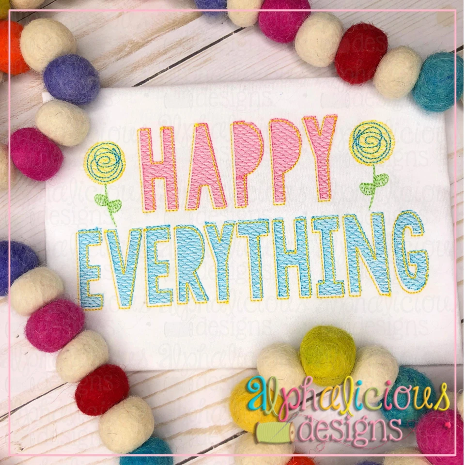 Happy Everything-Sketch