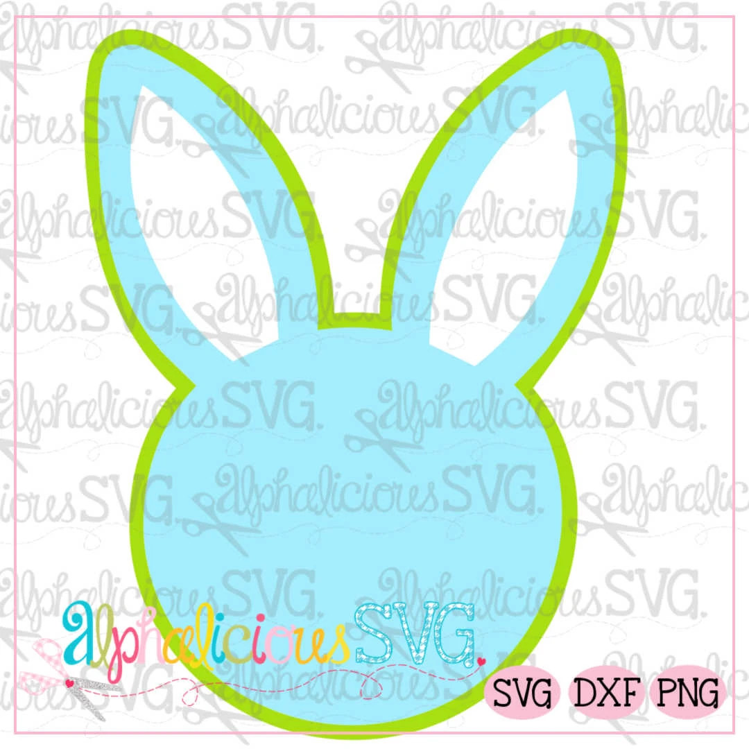 Bunny Head SVG