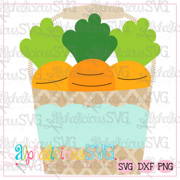 Carrot Bucket SVG