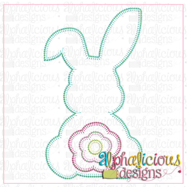 Cottontail Flower-Blanket