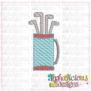 Golf Bag-Mini-Sketch