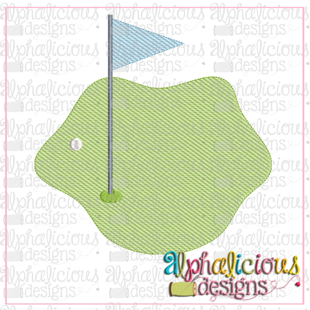 Golf Green-Sketch