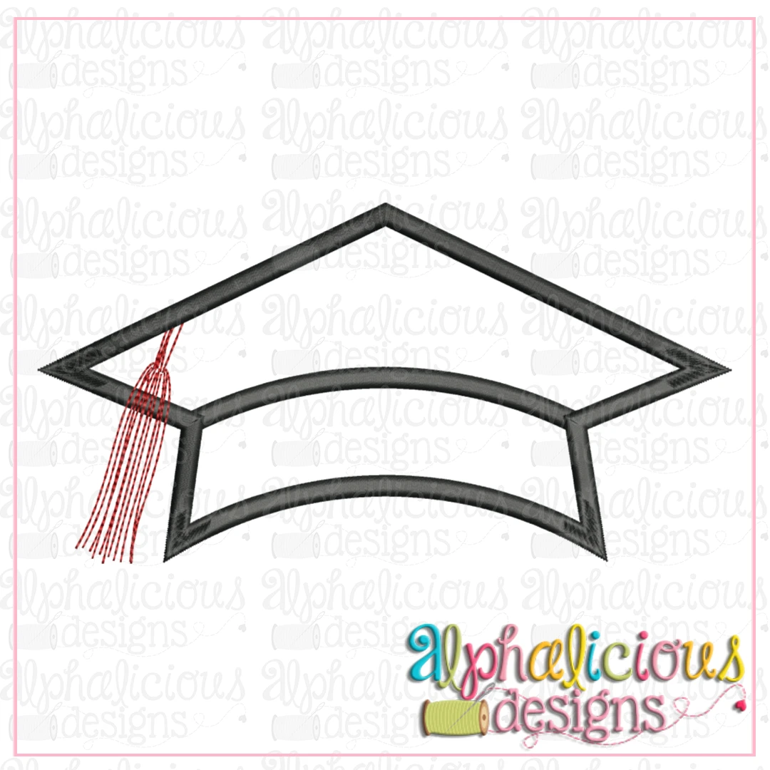 Graduation Hat with Tassel-Satin