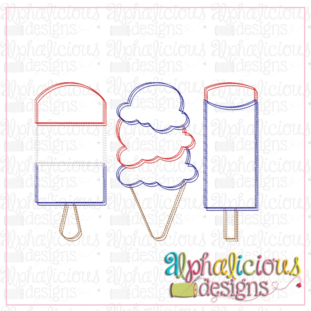 Ice Cream Three In A Row-Scribble