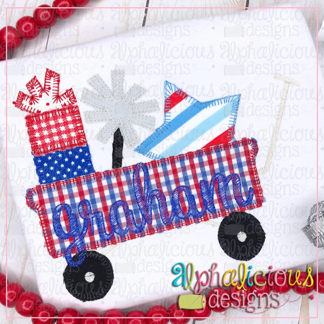 Star Spangled Wagon- Blanket