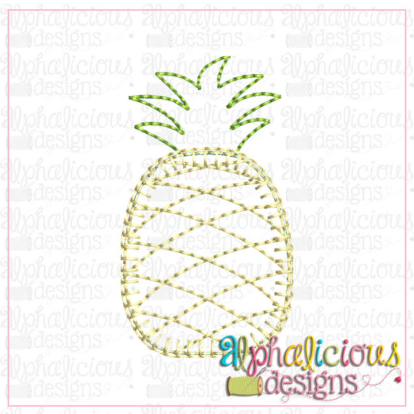 Pineapple-Mini-Applique