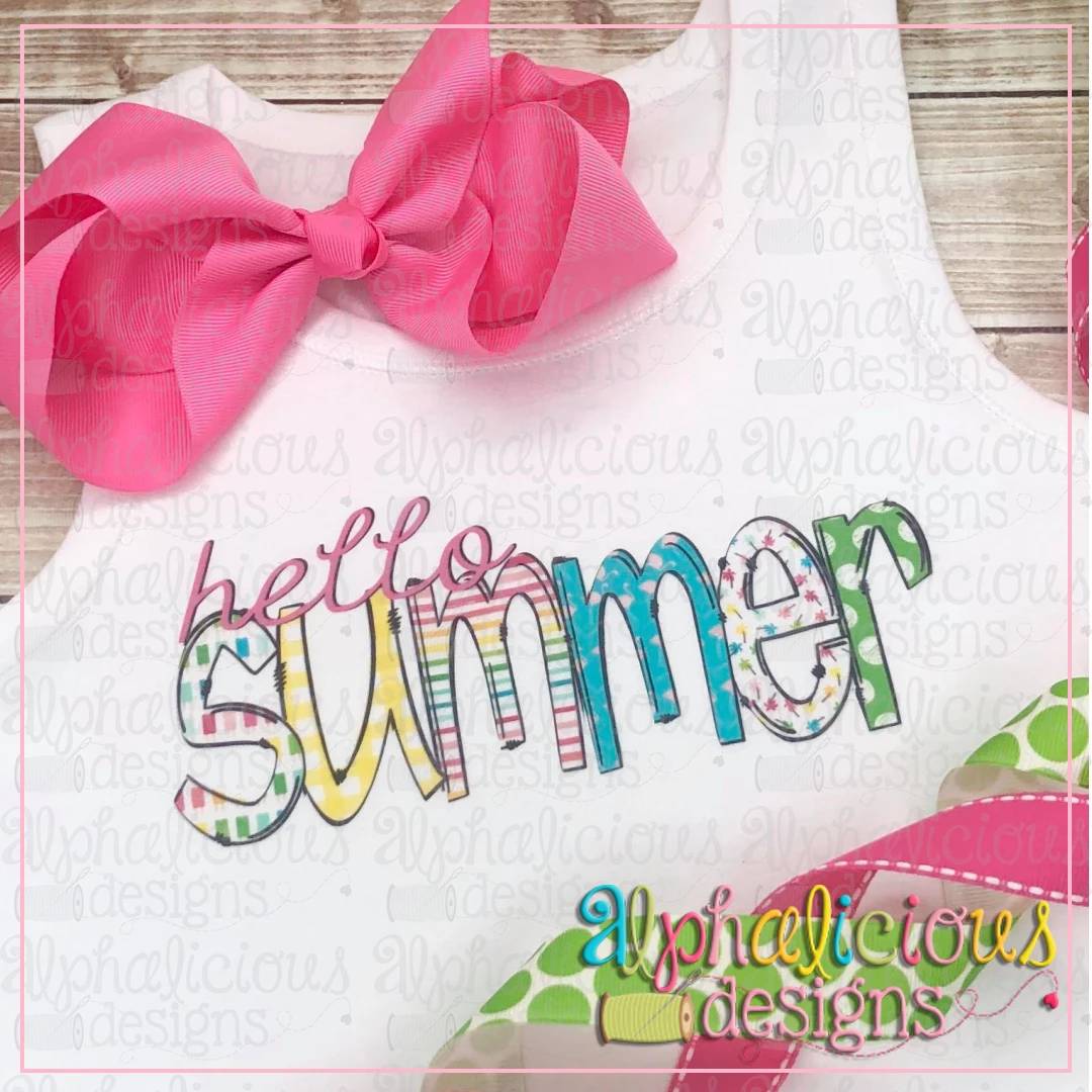 Hello Summer-Printable
