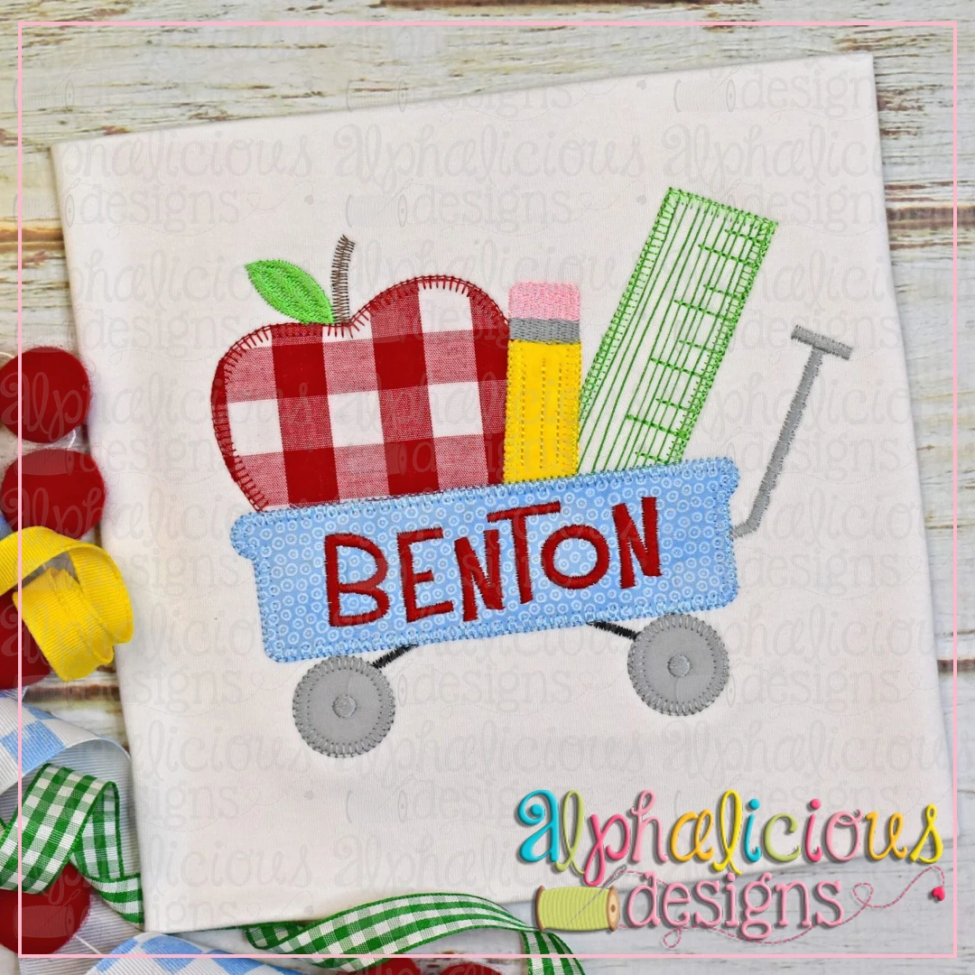 Back To School Wagon-Blanket