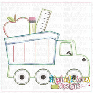 Back To School Dump Truck-Blanket