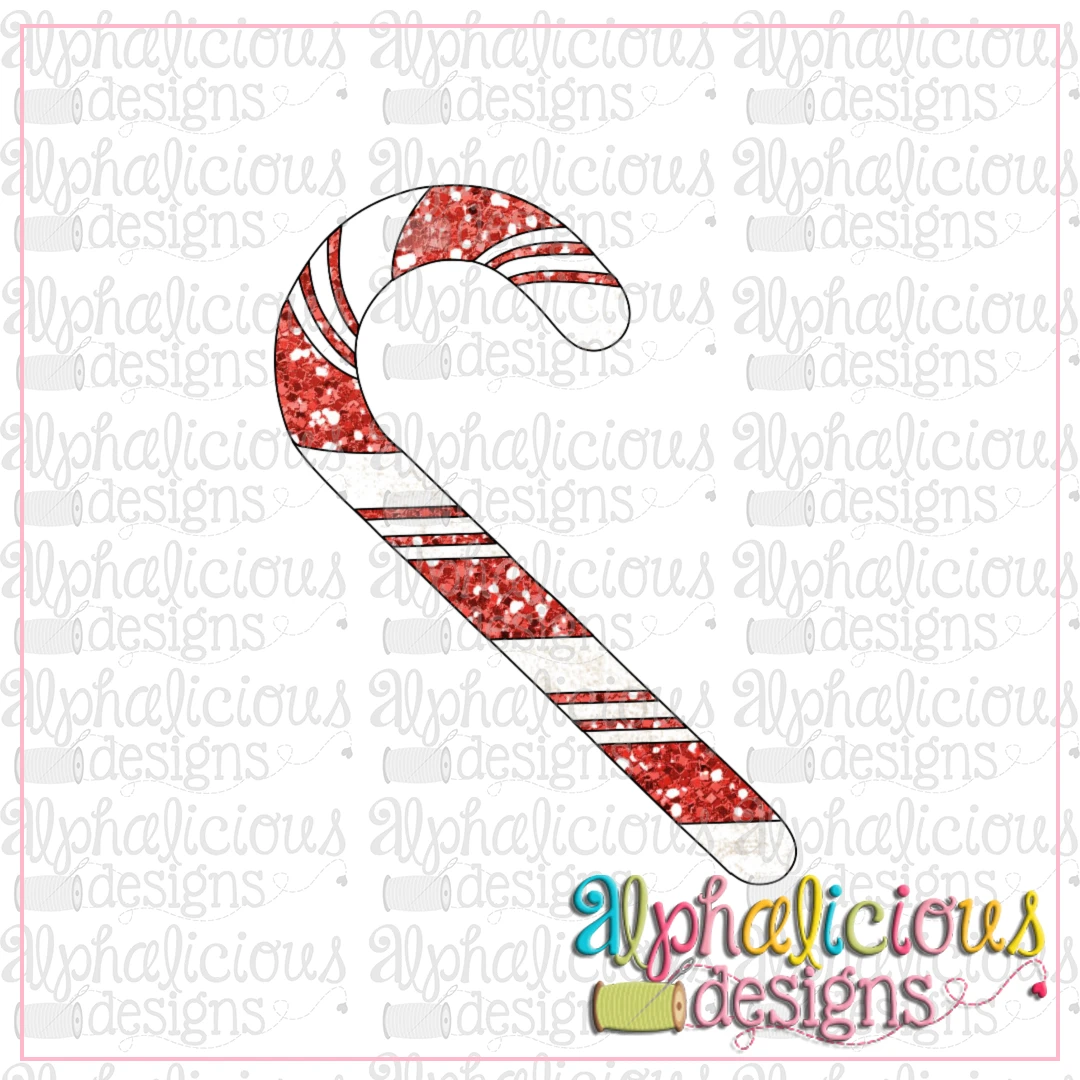 Candy Cane NO bow-LTC-Printable