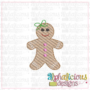 Gingerbread Girl-MINI-Sketch