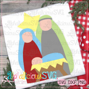 Simple Nativity- SVG