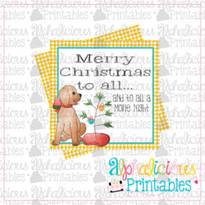 Merry Christmas to all...-Girl Printable Tags