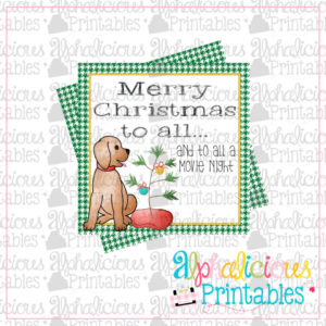 Merry Christmas to all...-Boy Printable Tags
