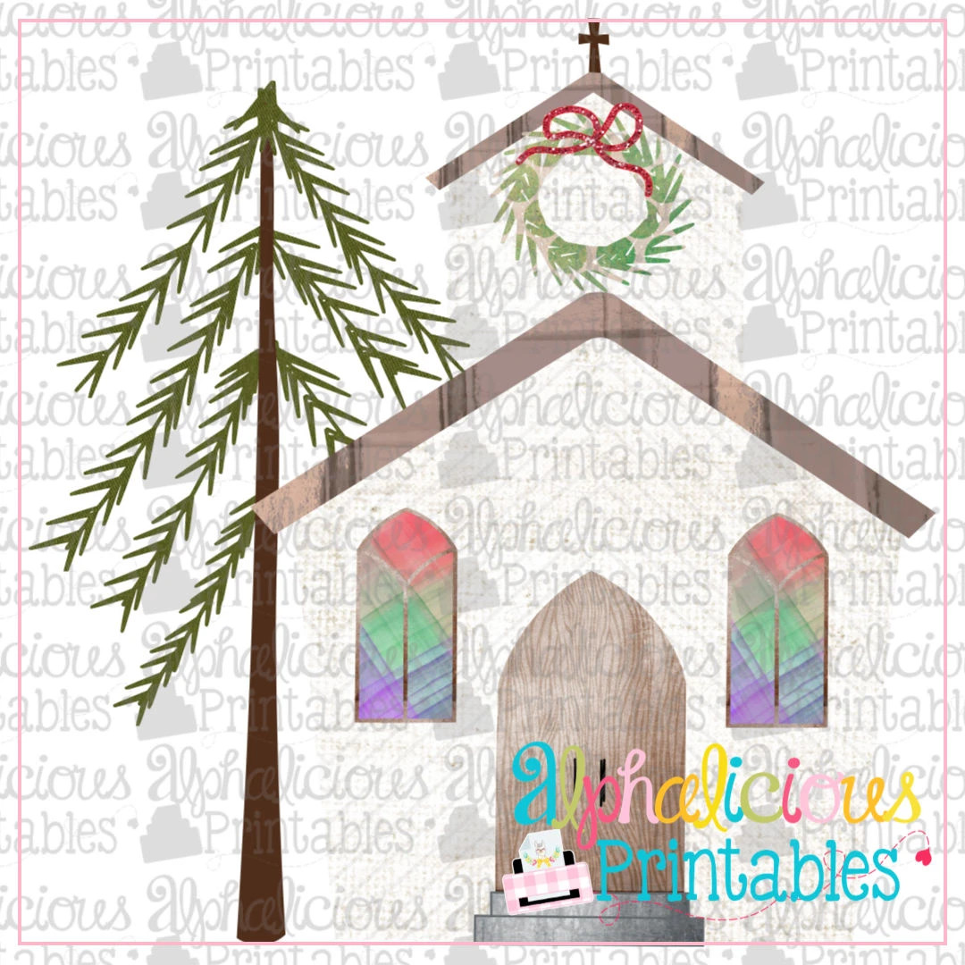Christmas Church- Printable