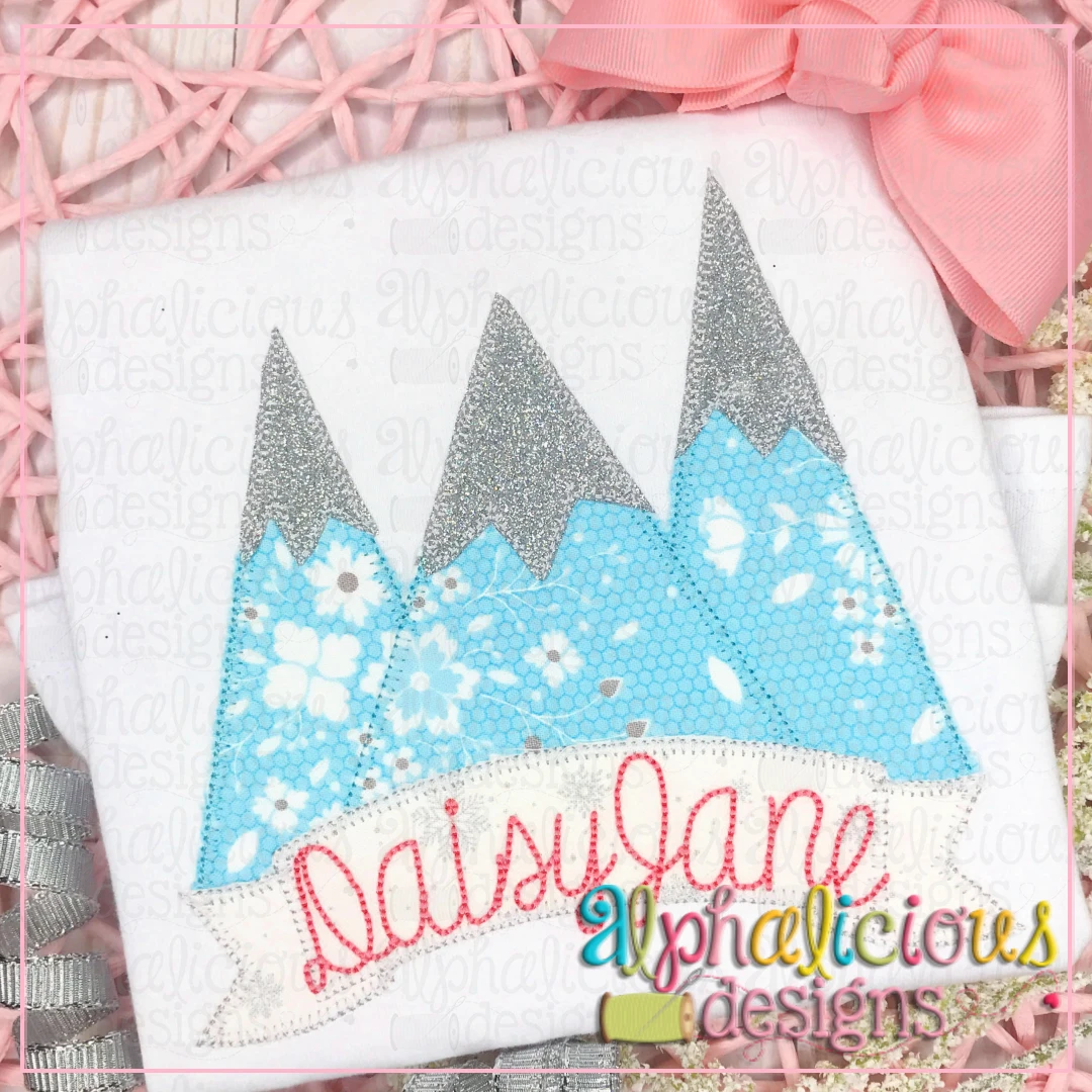 Snow Top Mountains-Blanket