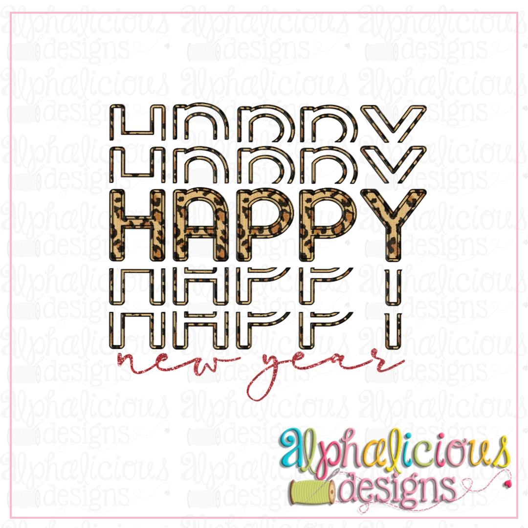 Happy New Year-Printable