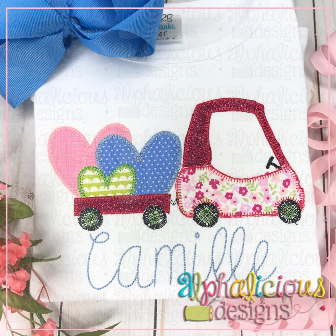 Coupe with Hearts-Blanket