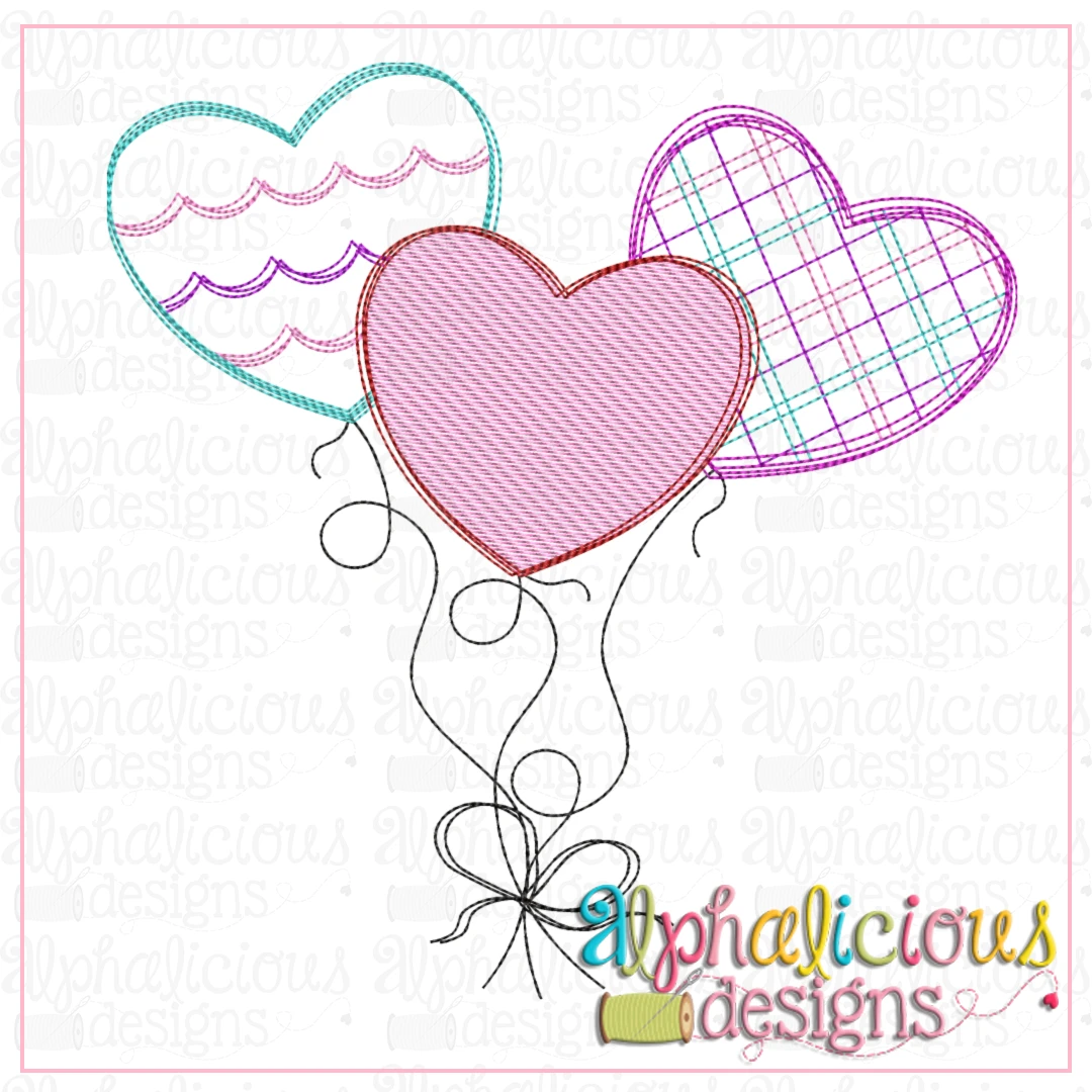 Heart Balloon Bundle