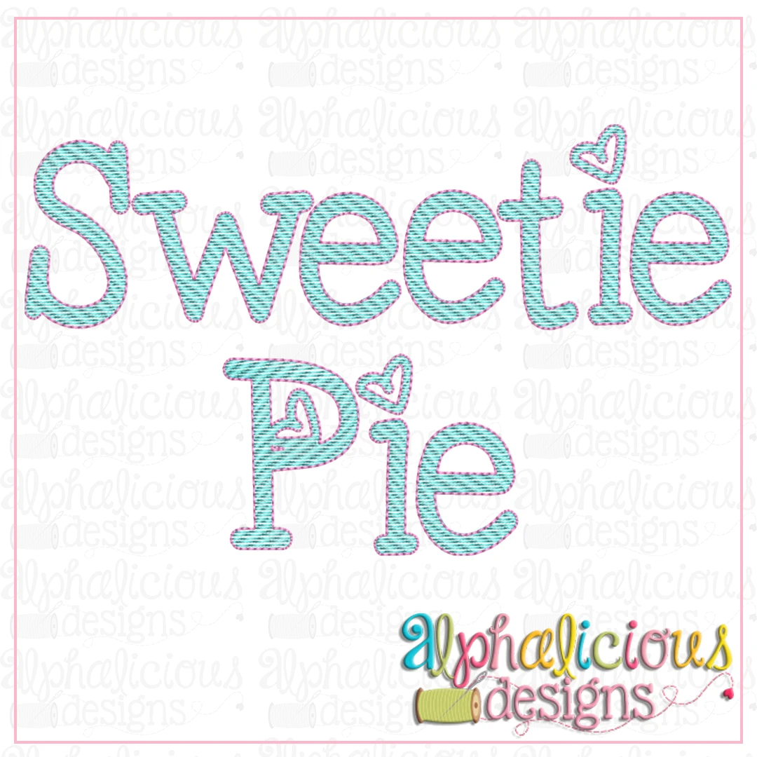 Sweetie Pie Sketch Font