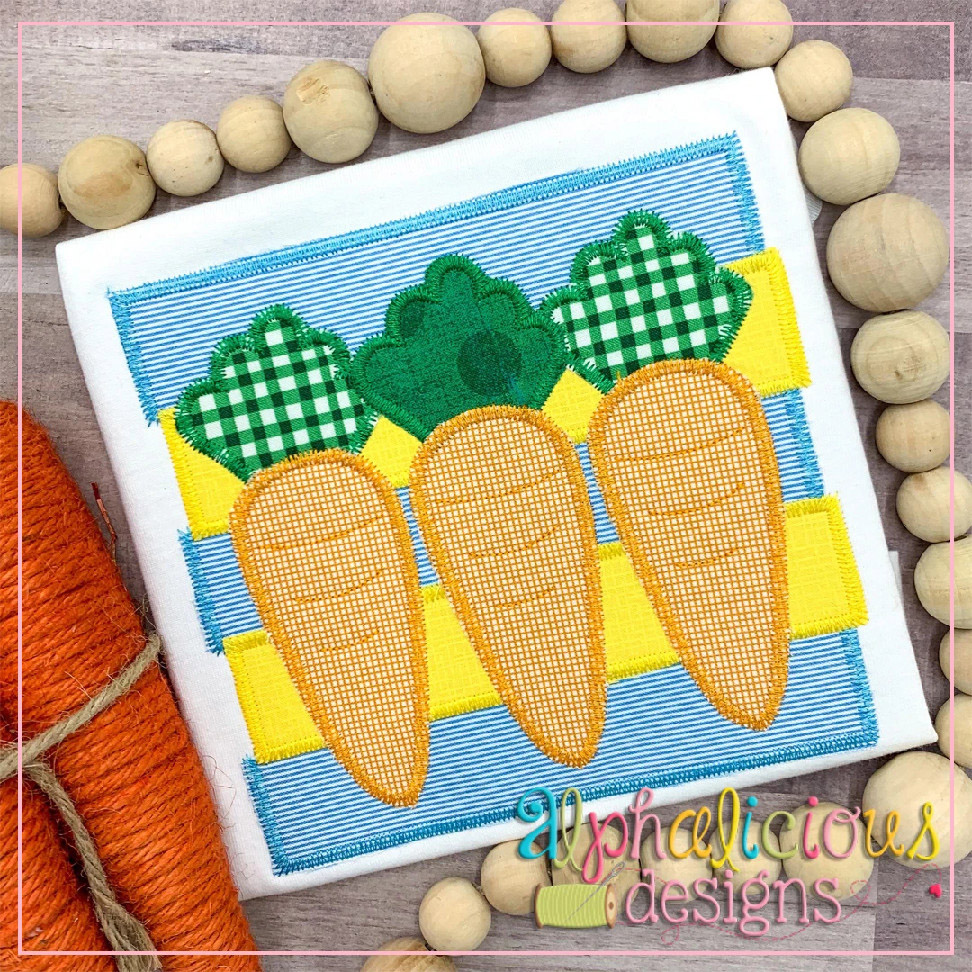 Carrots on Layered Frame-Zigzag