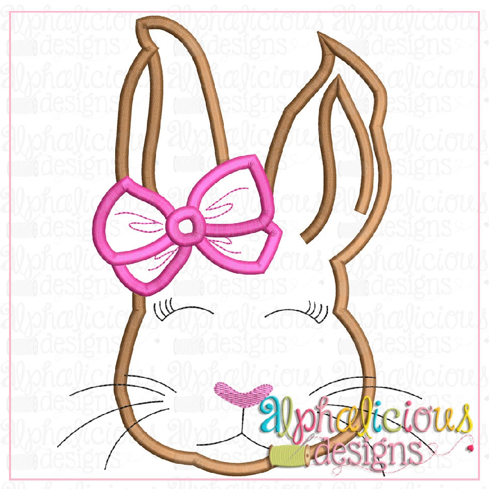 Classic Bunny with Bow-Satin