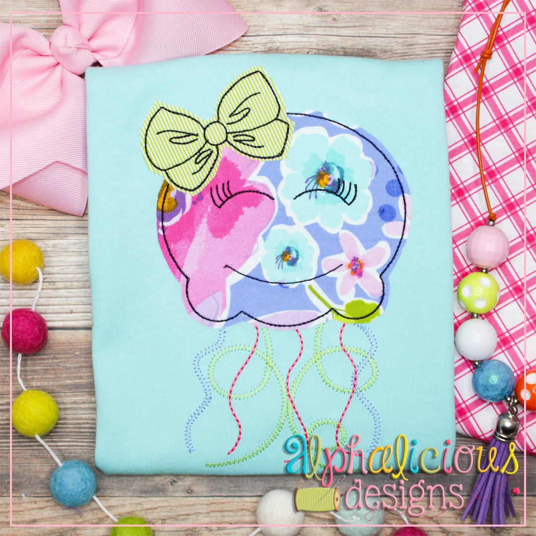 Jellyfish with Bow-Triple Bean