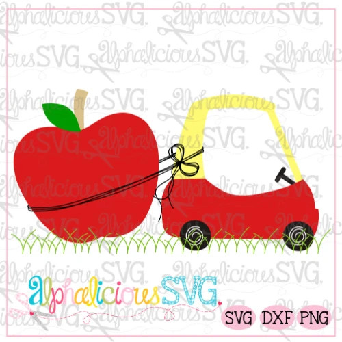 Coupe with Apple-SVG