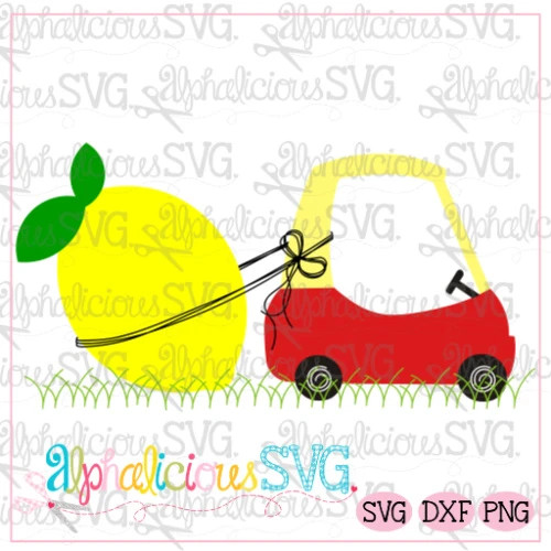 Coupe with Lemon-SVG