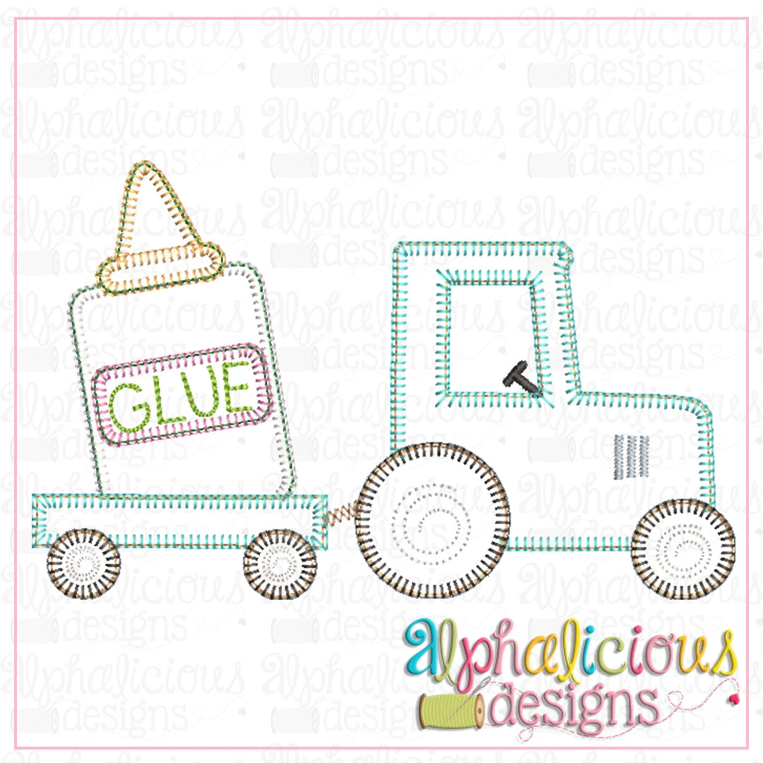 Tractor with Glue-Blanket