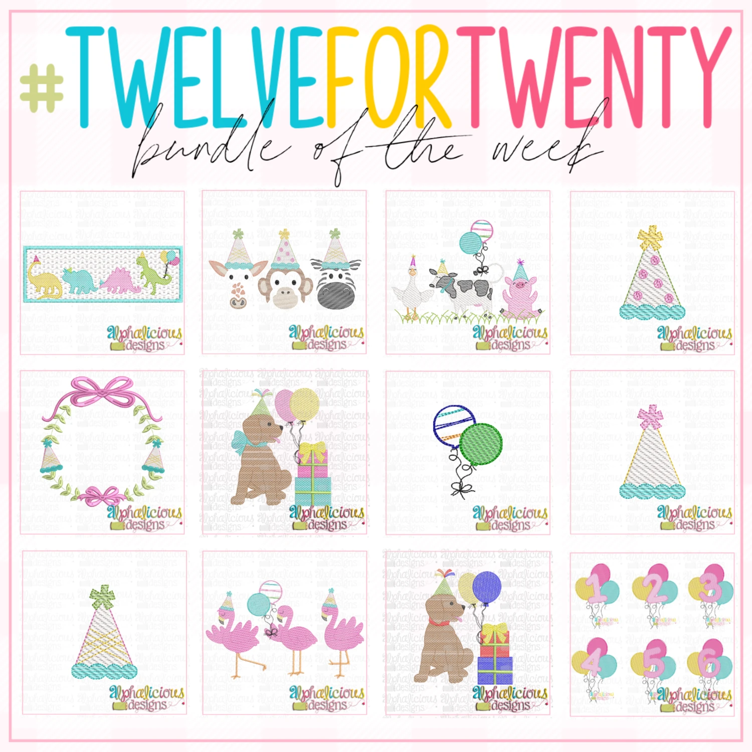 #twelvefortwenty Birthday Bundle