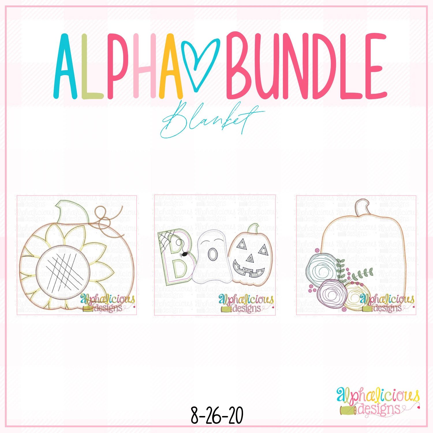 ALPHA BUNDLE-8/26/20 Release-Blanket Stitch