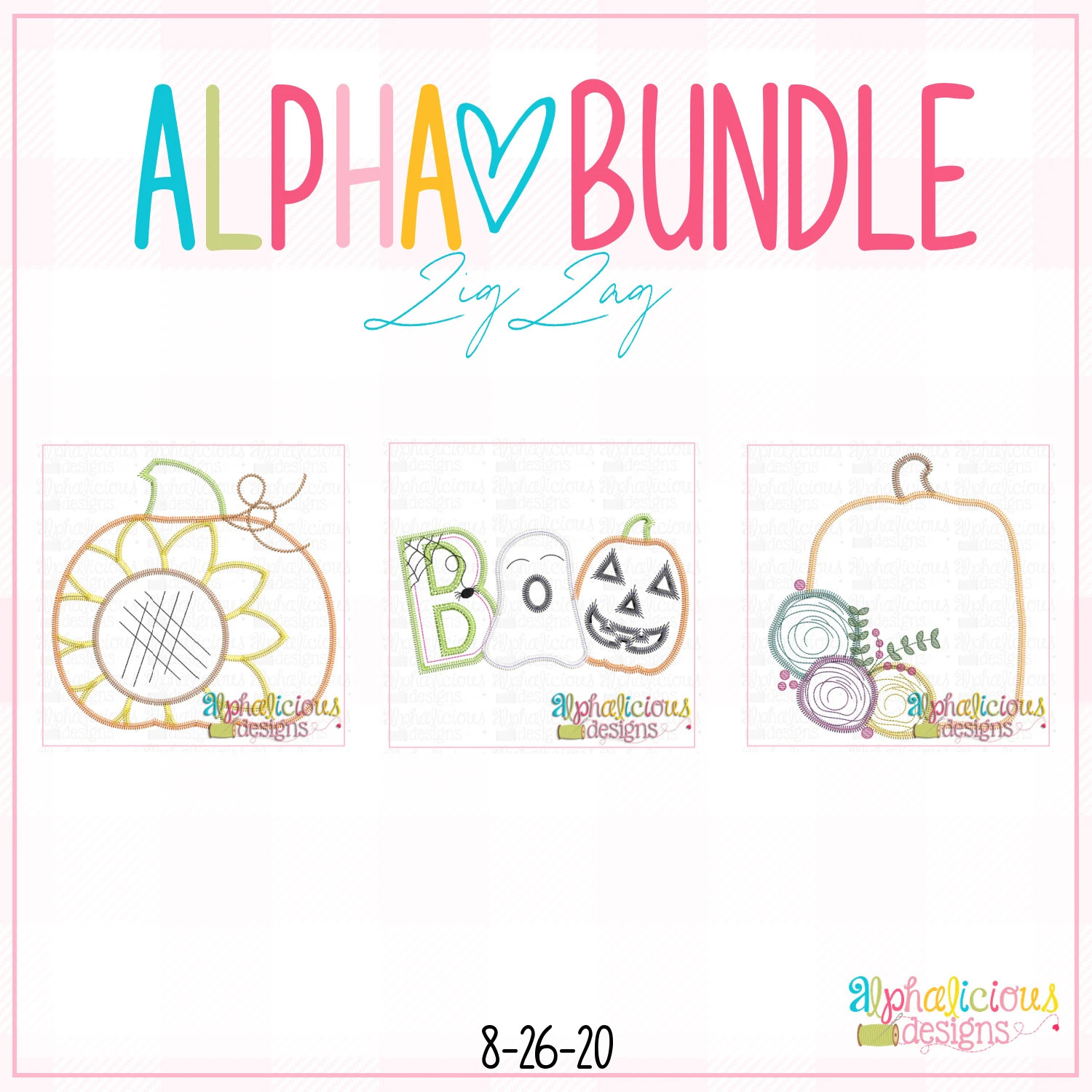 ALPHA BUNDLE-8/26/20 Release-ZigZag Stitch