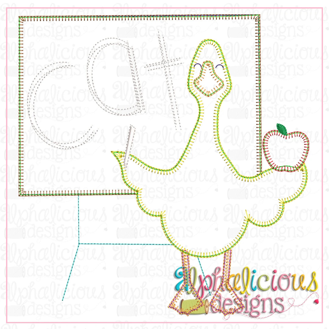Back to School Duck-Blanket