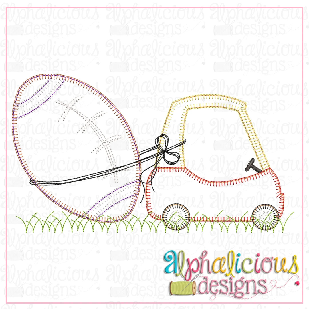 Coupe with Football-Blanket