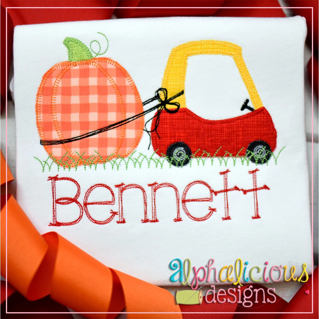 Coupe with Pumpkin-Blanket
