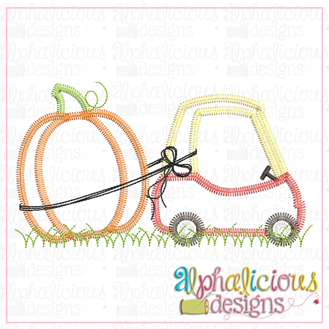 Coupe with Pumpkin-ZigZag