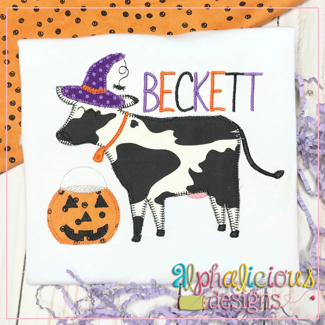 Halloween Cow-Blanket