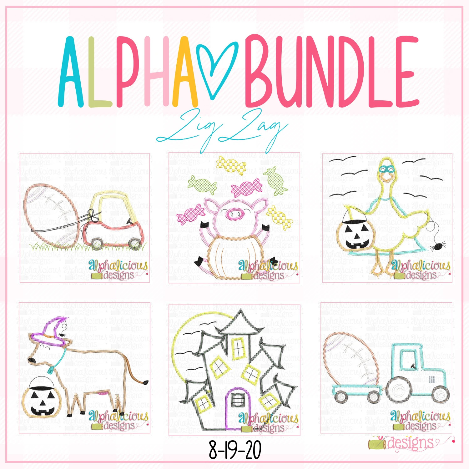 ALPHA BUNDLE-8/19/20 Release-ZigZag Stitch