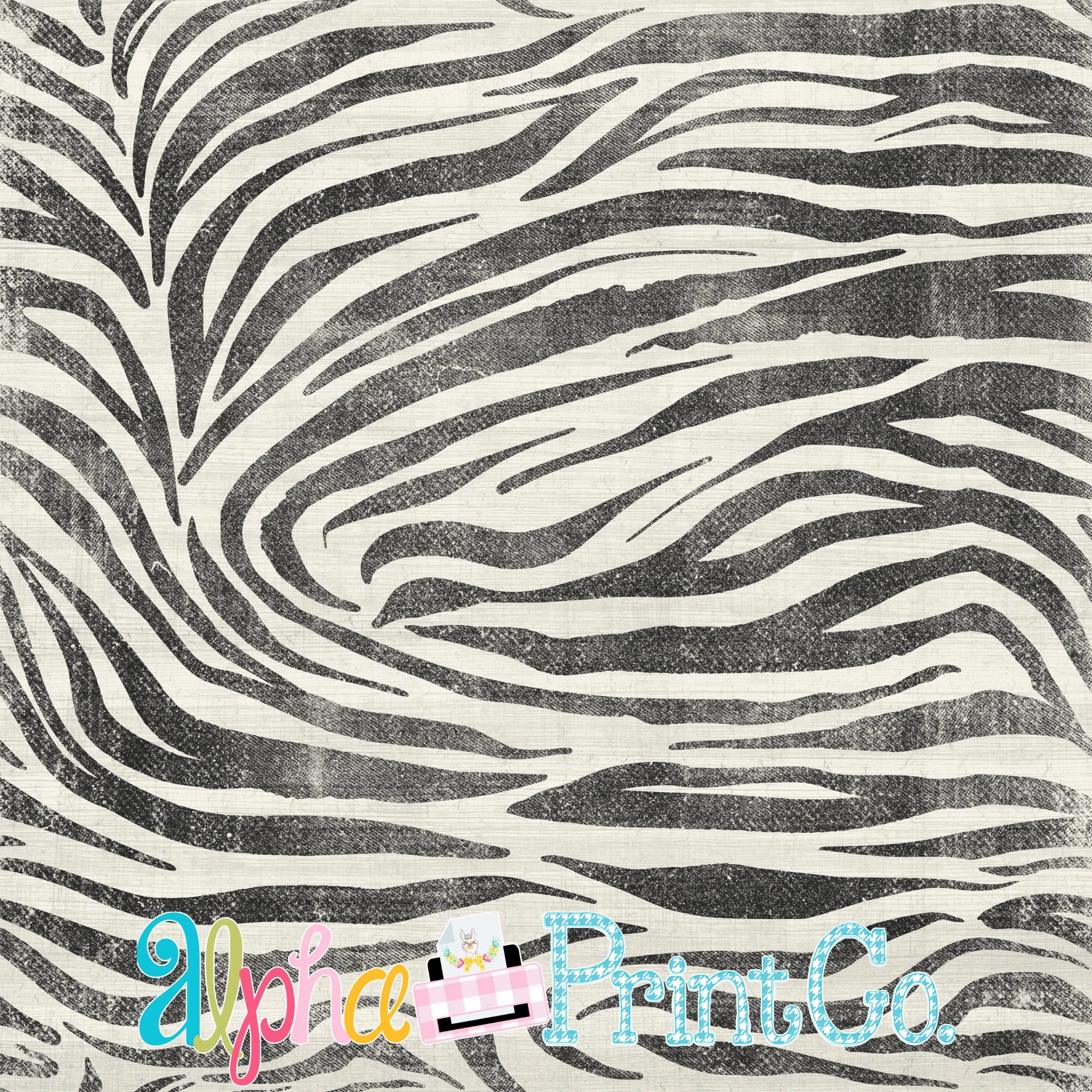 Backdrop- Distressed Zebra
