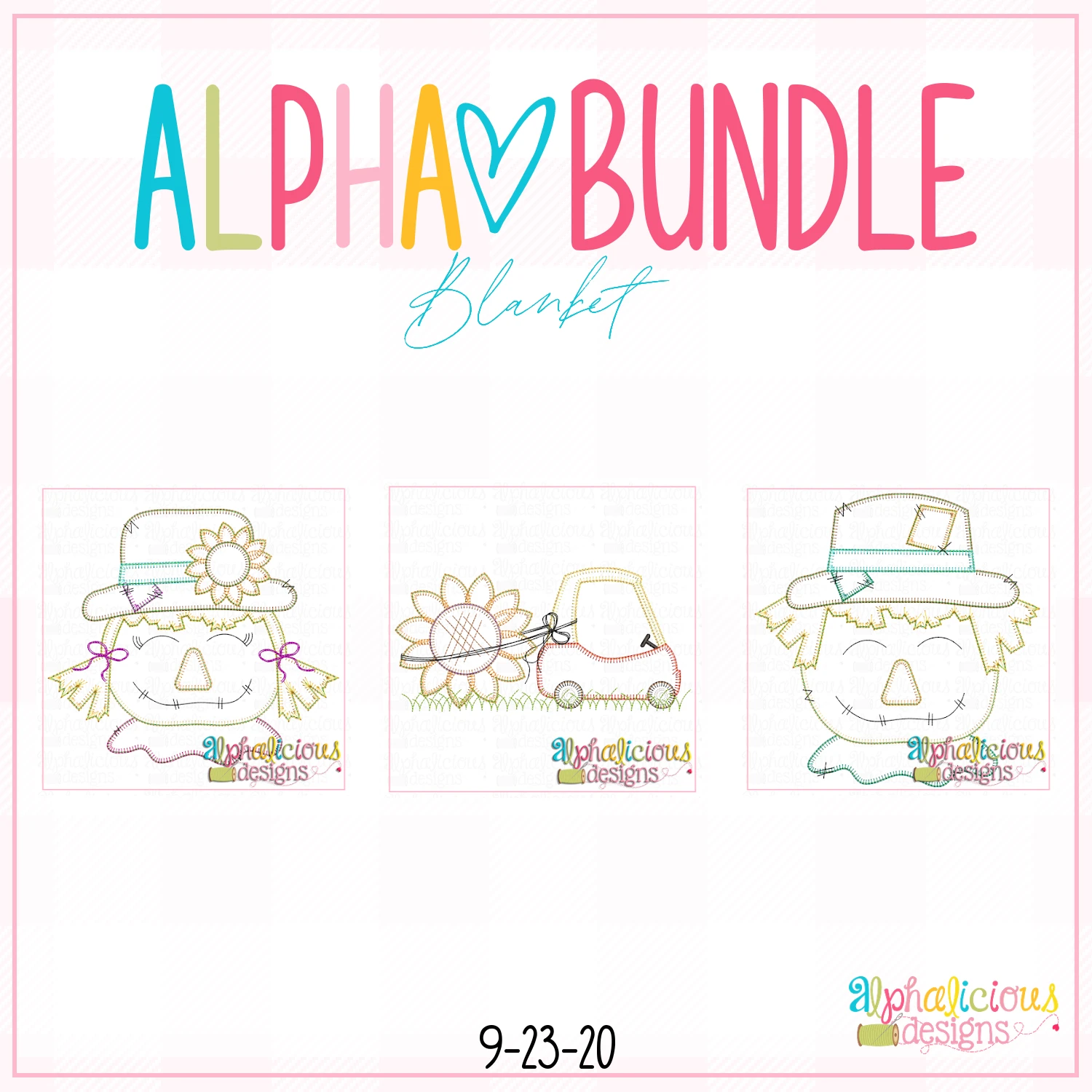 ALPHA BUNDLE-9/25/20 Release-Blanket Stitch