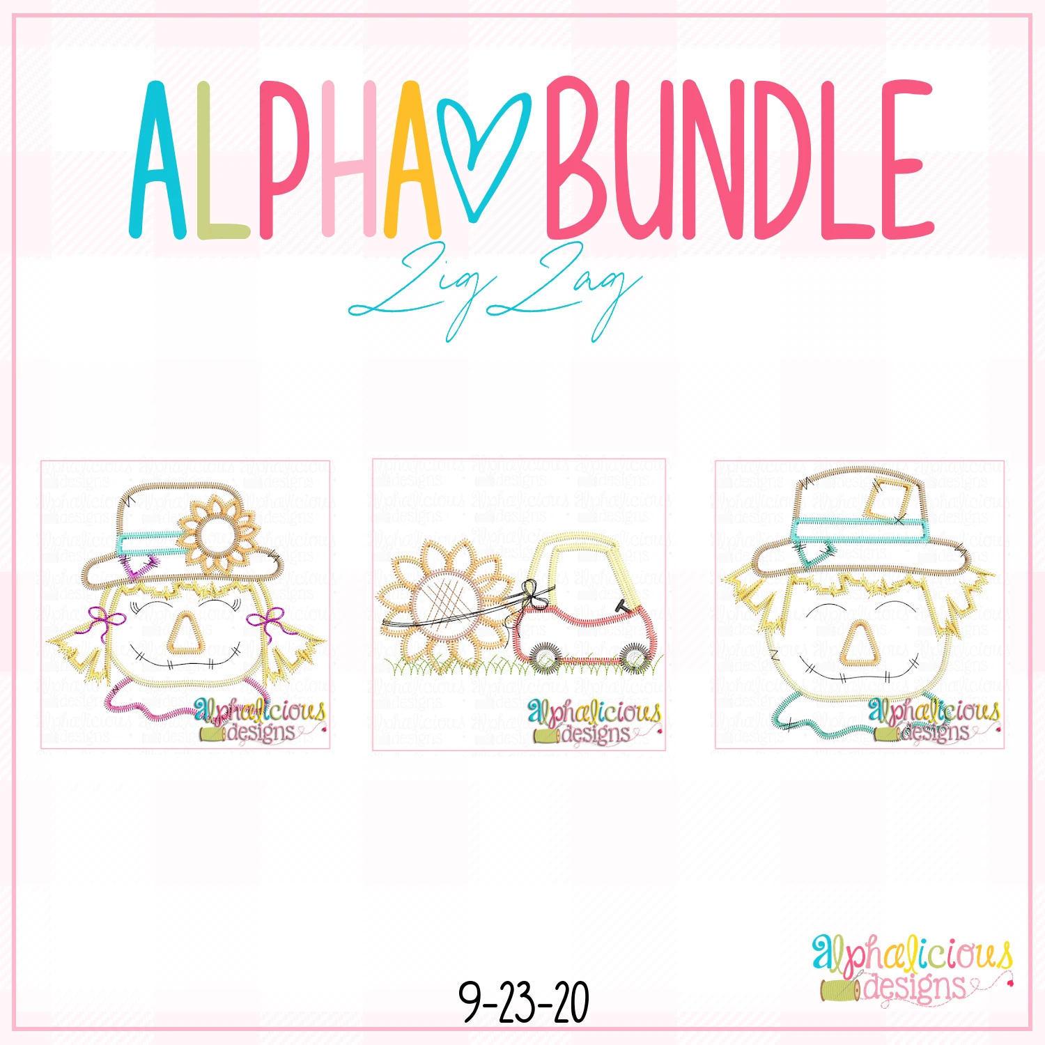 ALPHA BUNDLE-9/25/20 Release-ZigZag Stitch