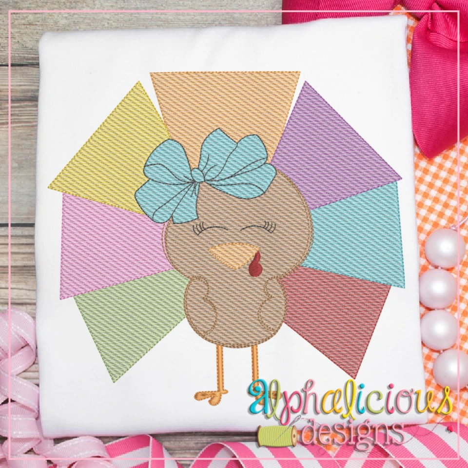 Geometric Turkey with Bow-Sketch